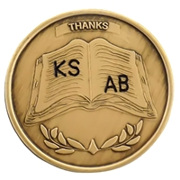 Recovery Emporium Engraved Bronze Inspiration Medallion - A thank you gift for a Sponsor