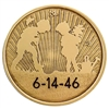 Sobriety date Custom Engraved AA coin - Planting the Seeds (of recovery) bronze Medallion