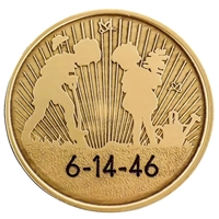 Engraved AA coin - Planting Seeds (of recovery) bronze Medallion