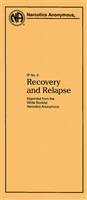 NA Pamphlet 6 Recovery and Relapse Front