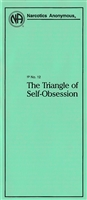 NA Pamphlet 12 - The Triangle of Self-Obsession (Green NA Pamphlet) - Front - Recovery Shop