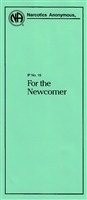 NA Pamphlet - IP No. 16 - For The Newcomer - Front