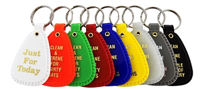 NA Anniversary Key Tags - Full Set - 9 Key Tags of Various Colors and Significance ranging from 24-hours to multiple years | $1.00 each
