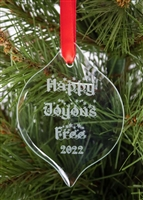 HAPPY, JOYOUS, AND FREE - RECOVERY ORNAMENT - 2020
