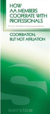 A.A. General Service Conference approved literature - How AA Members Cooperate with Professionals Pamphlet