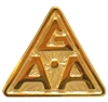 Gold Plated G.A.A. Lapel Pin