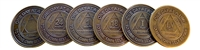 Recovery Emporium Brand - Bronze Anniversary Medallions  | $1.00 each