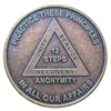 AA Principles Bronze Recovery Medallion