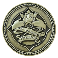 Sponsor Bronze Medallion - With Gratitude and Thanks