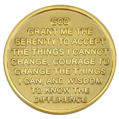 Recovery coins NA 7 Year Bi-Plate Medallion sobriety
