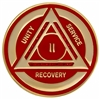 Blue-Gold Recovery Diamond Anniversary Medallion