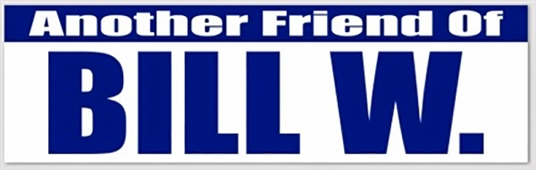 Another Friend Of Bill W Fob Bumper Sticker Recovershop