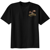 Bill W. Rode A Harley Black recovery T-Shirt