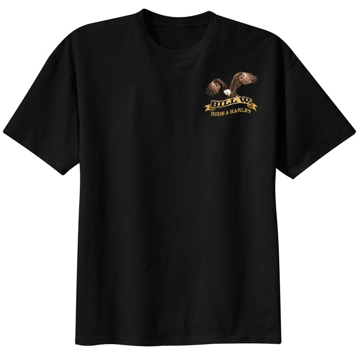 863c39f4 Bill W. Rode A Harley T-Shirt | Recovery Shirt I RecoveryShop