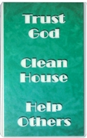Trust God - Clean House - Help Others Laminated Verse Card
