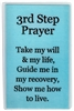 NA 3rd Step Prayer Laminated Recovery Verse Card