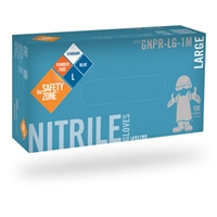 NITRILE NON-POWDERED LARGE 4 MIL EACH
