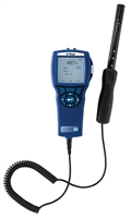 TSI 9555-X METER WITH CO, CO2, TEMP, RH% IAQ 982 PROBE AND DATALOGGING