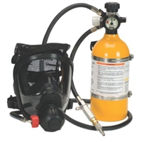 MSA PREMAIRE CADET SUPPLIED AIR RESPIRATORY SYSTEM 10 MIN BOTTLE HYDRO EXP: 4/2019