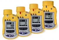 HONEYWELL RAE TOXIRAE PRO PGM-1860 DATALOGGING NON-WIRELESS FOR HYDROGEN SULFIDE (H2S) 0 - 100 PPM