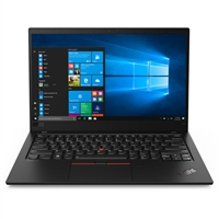 "Lenovo 14"" ThinkPad X1 Carbon Laptop (Gen 7, Black Paint) - 20QD000EUS"