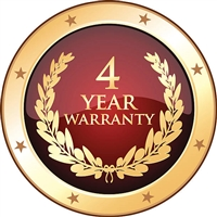 4 Years Warranty - 4yw