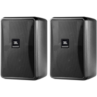 JBL Control 23-1 Ultra-Compact Indoor/Outdoor Background/Foreground Speaker (Pair, Black) - CONTROL231