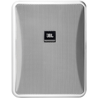 JBL Control 25-1 Compact Indoor/Outdoor Background/Foreground Speaker (Pair, White) - CONTROL251WH