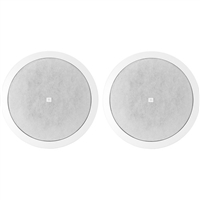 "JBL Control 26CT - Two Way Vented Ceiling Speaker with 6.5"" Woofer for use with 70/100V - CONTROL26CT"