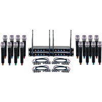 VocoPro Digital-Acapella-16 Wireless System 902-928 MHz Black - DIGITALACAPELA16