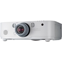 NEC NP-PA521U 5200 Lumen WUXGA Professional Installation LCD Projector (No Lens Included) - NPPA521U