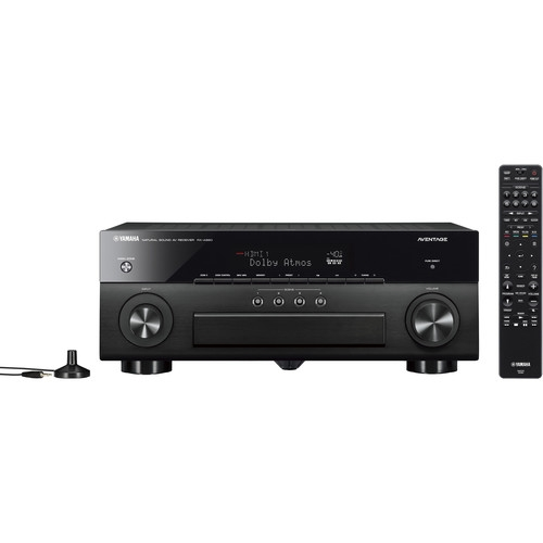 Yamaha RX-A880 AVENTAGE 7.2-Ch AV Receiver with MusicCast - RXA880BL