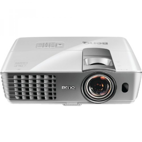 BenQ W1080ST - Portable 3D Full HD 1080p DLP Projector with Speaker - W1080ST