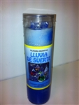 LLUVIA DE SUERTE PREPARED CANDLE ( RAIN OF LUCK CANDLE )