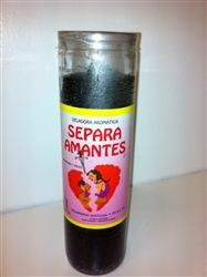 SEPARA AMANTES PREPARED SEVEN DAYCANDLE ( SEPARATE LOVERS CANDLE )