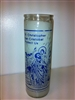 SAINT CHRISTOPHER SEVEN DAY CANDLE IN GLASS