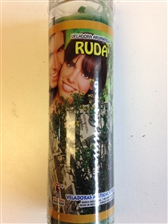RUE SEVEN DAY CANDLE IN GLASS (RUDA)