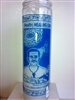 DR. JOSEPH GREGORY HERNANDEZ CISNEROS SEVEN DAY CANDLE IN GLASS