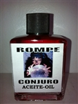 MAGICAL AND DRESSING OIL (ACEITE) 1/2OZ BREAK SPELL ( ROMPE CONJURO )
