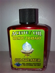 MAGICAL AND DRESSING OIL (ACEITE) 1/2OZ JOB BREAKER ( ROMPE TRABAJO )