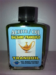 MAGICAL AND DRESSING OIL (ACEITE) 1/2OZ - TRANQUIL (BALSAMO TRANQUILO)