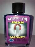 MAGICAL AND DRESSING OIL (ACEITE) 1/2OZ - MAGNET (IMAN)
