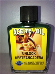 MAGICAL AND DRESSING OIL (ACEITE) 1/2OZ - UNLOCK (DESTRANCADERA)