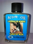MAGICAL AND DRESSING OIL (ACEITE) 1/2OZ - TEARS OF A MAN (LAGRIMAS DE HOMBRE)