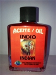 MAGICAL AND DRESSING OIL (ACEITE) 1/2OZ INDIAN (INDIO)