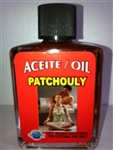 MAGICAL AND DRESSING OIL (ACEITE) 1/2OZ PATCHOULI (PACHULI)