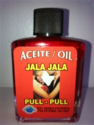 MAGICAL AND DRESSING OIL (ACEITE) 1/2OZ PULL - PULL (JALA - JALA)