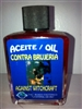 MAGICAL AND DRESSING OIL (ACEITE) 1/2OZ AGAINST WITCHCRAFT ( CONTRA BRUJERIA )
