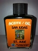 MAGICAL AND DRESSING OIL (ACEITE) 1/2OZ SAINT JUDE ( SAN JUDAS )