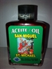MAGICAL AND DRESSING OIL (ACEITE) 1/2OZ SAINT MICHAEL ( SAN MIGUEL )